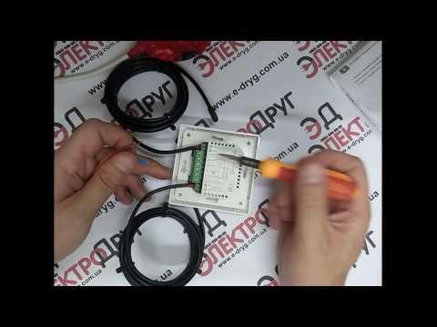 Терморегулятор теплого пола Termocontrol LTC-440 (Profitherm EX-02). Обзор, подключение и проверка