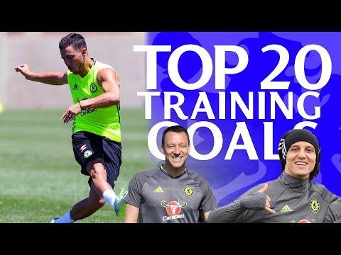 Top 20 Chelsea Training Goals | 2016/17 Season