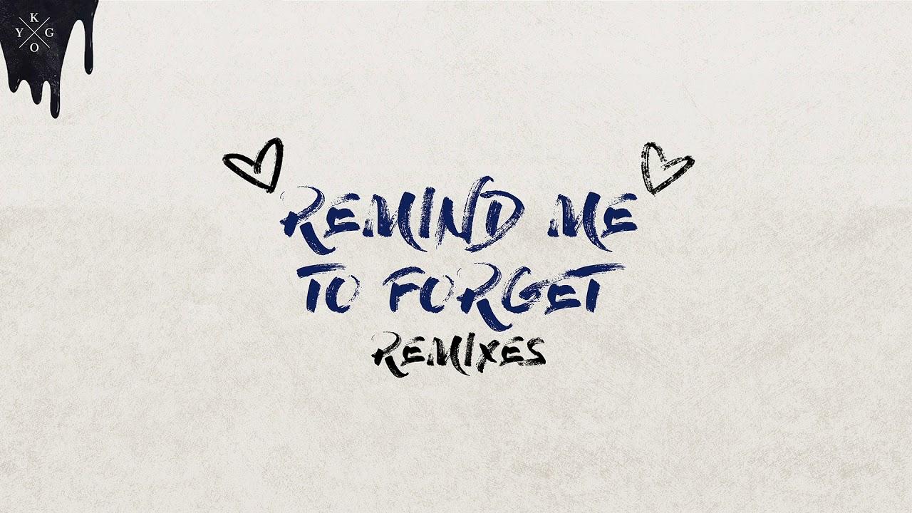 Kygo & Miguel — Remind Me To Forget (Joe Mason Remix) [Ultra Music]