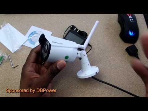DBPOWER H 264 720P Wireless Waterproof Outdoor Camera