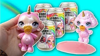 POOPSIE SPARKLY CRITTERS SLIME SURPRISE BABIES IN A CAN - JUST ADD WATER