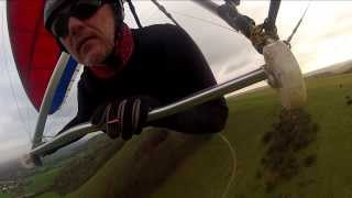 Hang Gliding at Streat Farm in Sussex UK
