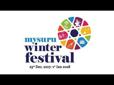 Aashiqui hum tere din ab reh nahi sakthe..By Voice of mysore.Mysore open street carnival,Winter fest