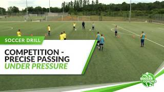 Attacking Soccer   Precise Passing and Combination Play Under Pressure