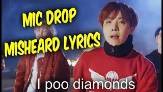 Video BTS Mic Drop Misheard Lyrics - Try Not To Laugh download MP3, 3GP, MP4, WEBM, AVI, FLV Mei 2018