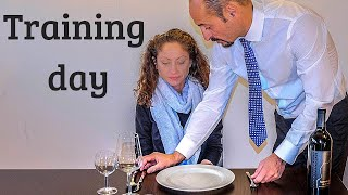 How to train new employee-Waiter training program. Fine dining restaurant service How to be waiter!