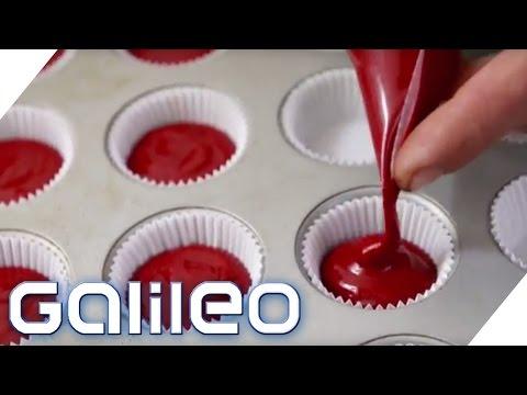 Schokolade und Cupcakes aus Blut - Ist das genießbar? | Galileo | ProSieben
