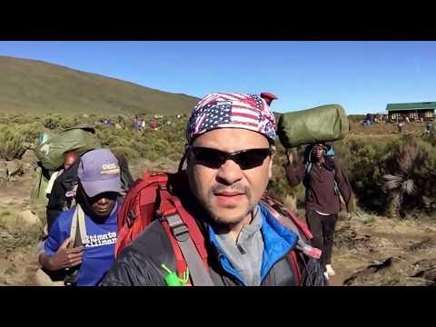 Climbing Mount Kilimanjaro via Lemosho Route   Feb 2017