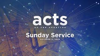 Sunday Service - October 4, 2020