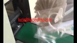 Medical supplies needle syringe packaging machine manufacturer
