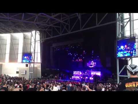 Five Finger Death Punch - Drum Solo - Live at Toronto Mayhem Festival, July 10 2013