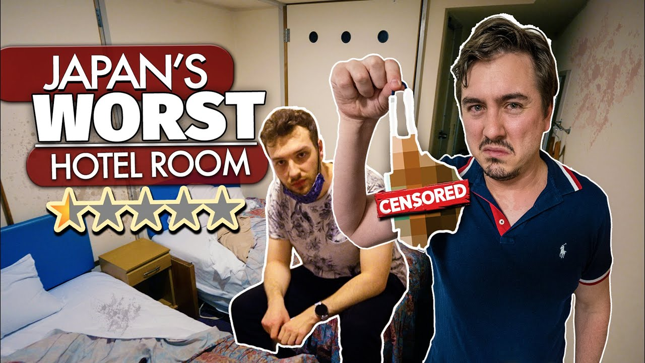 Inside Japan's WORST Hotel Room   Feat. @CDawgVA