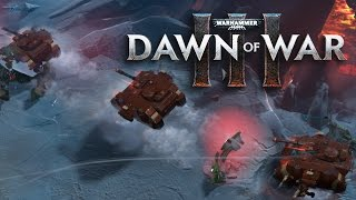 Dawn of War 3 - Space Marine Unit Breakdown (Armor and Infantry)