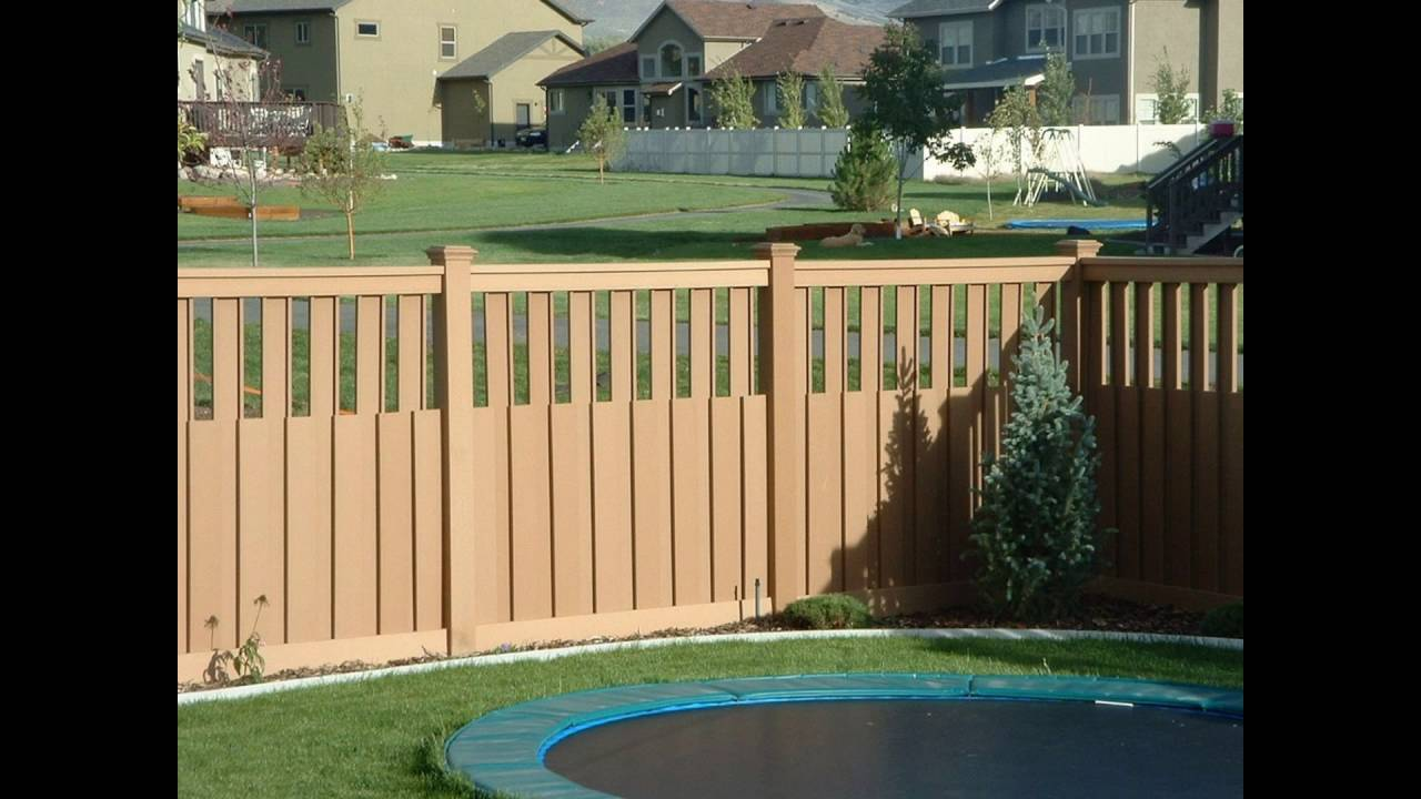 The Best Garden Fencing Ideas 2016 YouTube