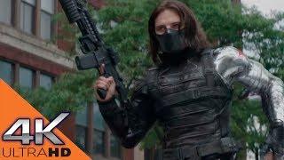 Капитан Америка против Баки Барнса ★ Первый мститель: другая война (2014)