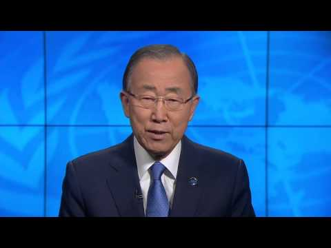 United Nations Secretary General Message on World Humanitarian Summit