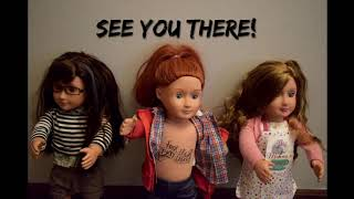 BOOK LAUNCH PARTY COUNTDOWN! (Stop-motion Our Generation/American Girl Dolls)