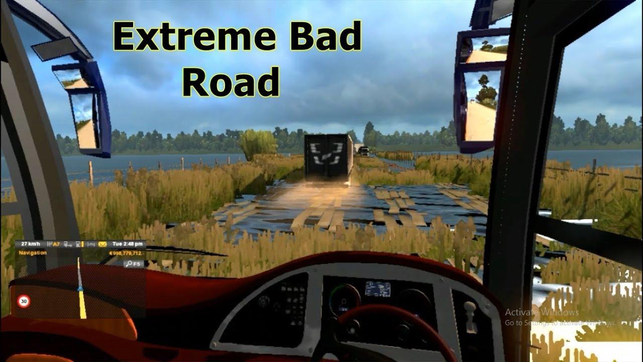 Bd Bad ets2 bd best bad road pro bd map