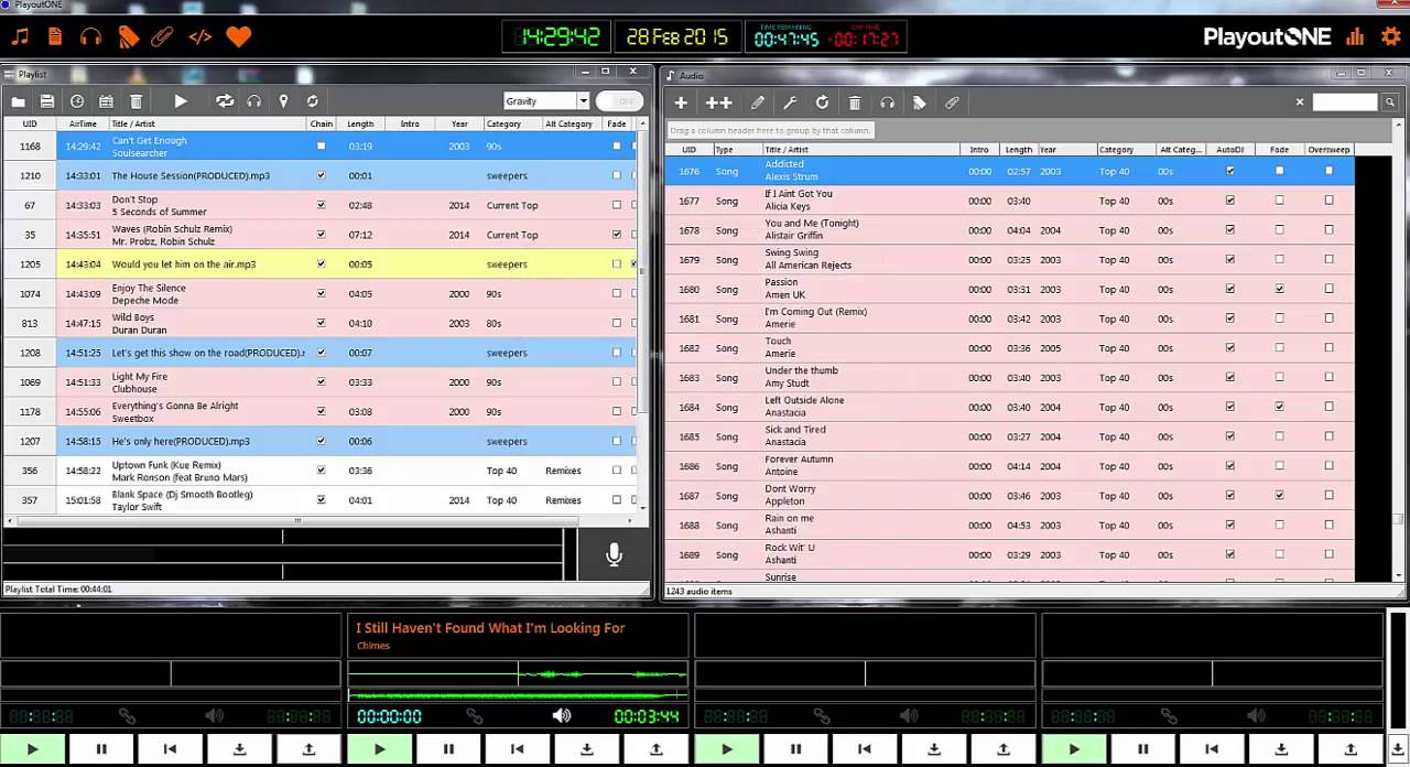 PlayoutONE - Radio Playout Software Review (ish)