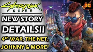 CYBERPUNK 2077 | TONS OF STORY NEWS! Cyberpunk Red, 4th Corporate War,