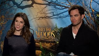 Anna Kendrick and Chris Pine Chat