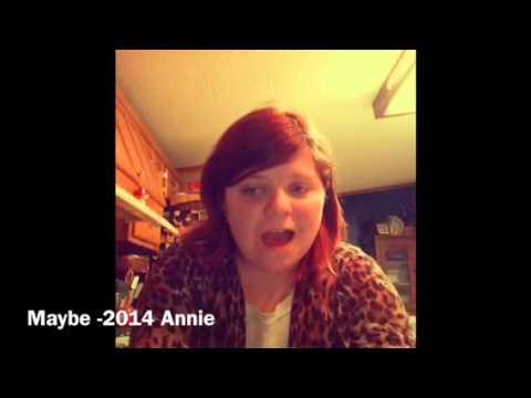 Maybe 2014 Annie Karaoke CW