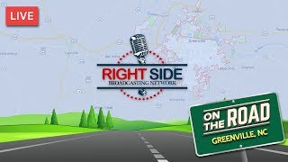 RSBN on the Road - Trump Rally Eve From Greenville, NC 7-16-19