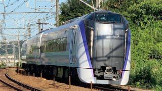 E353系S206編成 J-TREC横浜事業所 出場試運転