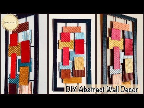 Unique wall decoration ideas|gadac diy|wall hanging craft ideas|do it yourself wall decor|diy crafts