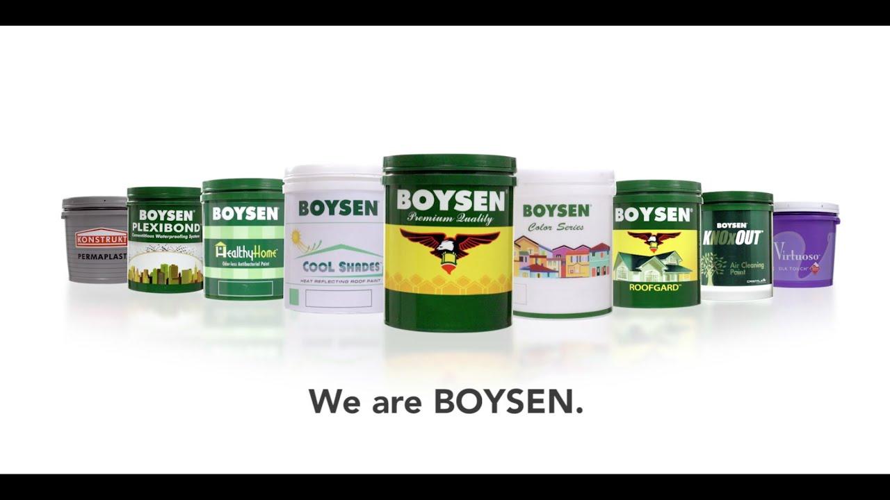 Boysen Concrete Chart Paints Color