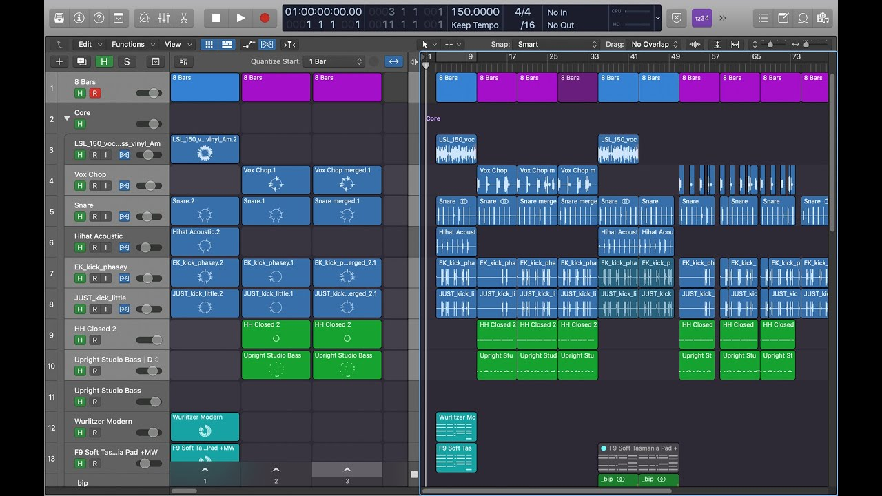 Logic Pro X 10 5 Update Overview Youtube