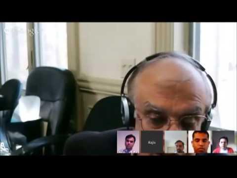 Rajiv Malhotra's Google Hangout for a Better India