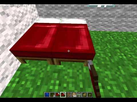 Como Fazer Uma Cama No Minecraft - #1