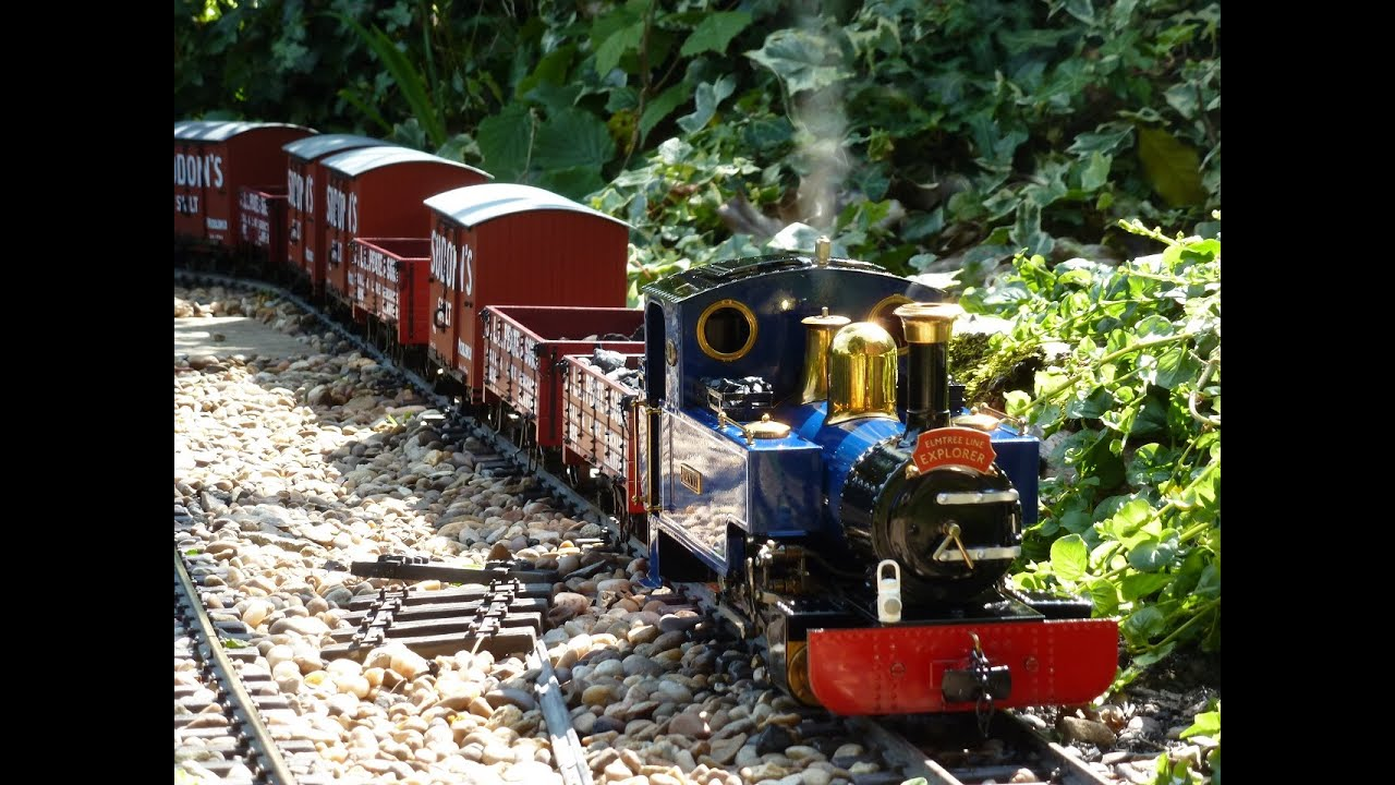 G Scale Live Steam Garden Railway Fun YouTube