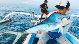 Рыбалка на острове Бали Рыбалка в Индонезии Рыбалка на Махи Махи ПРОМО
