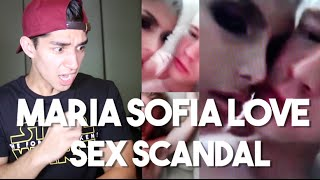 Maria Sofia Love Sex Scandal (Video plus Reaction)