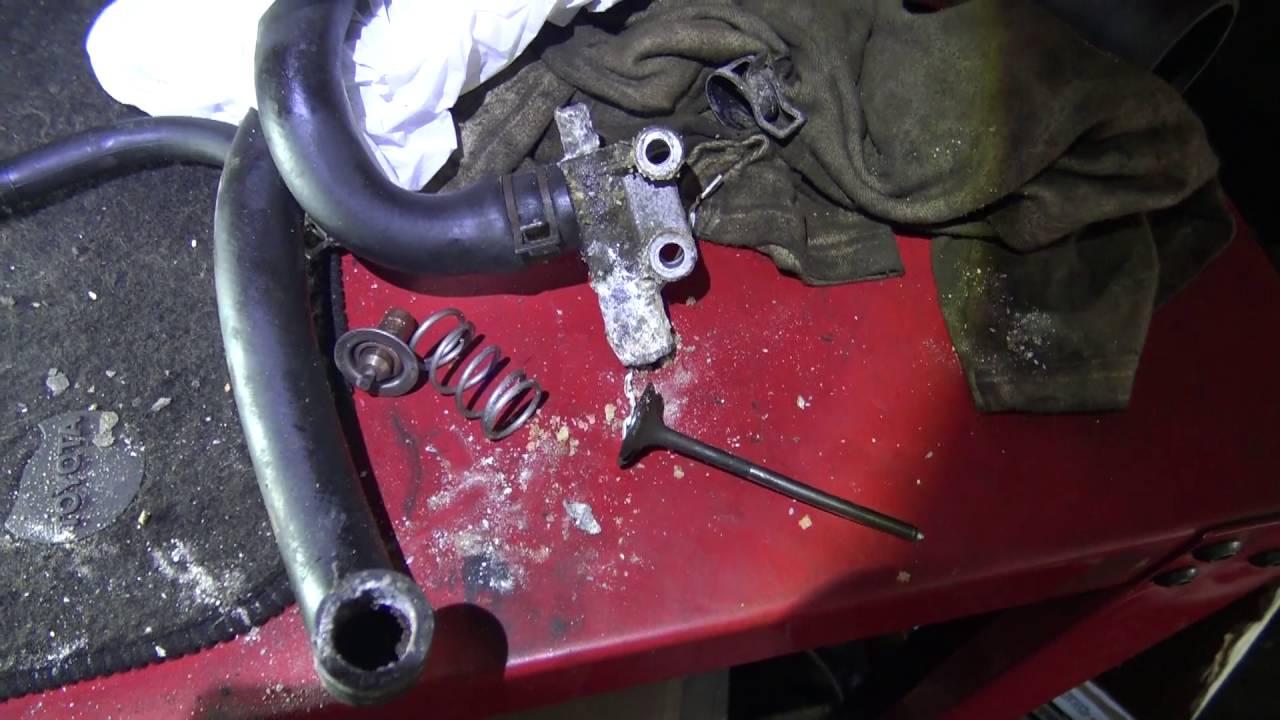 Последствия-в ланос залили плохой антифриз bad atifreeze in engine