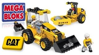 Mega Bloks Cat Road Building Unit 97805 Playset Opening