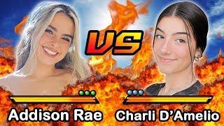 Addison Rae VS Charli D'Amelio | Versus | Who Is The Better TikTok Star?