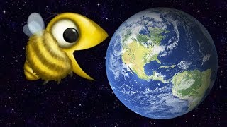 Супер ПЧЕЛА Съела Планету Земля в Tasty Planet Forever Эволюция Пчелы