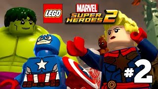 LEGO Marvel Superheroes 2 Free Roam Gameplay Part 2