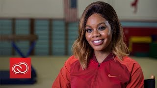 Gabby Douglas on Triumphing Over Adversity: Stay Strong and Be Powerful   Adobe Creative Cloud