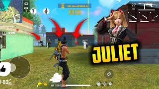 Juliet Girls Power Squad Match Pro Gameplay - Garena Free Fire