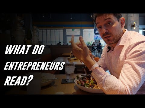 What Do Entrepreneurs Read? - Business Startup Book Review Video