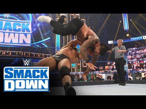 Drew McIntyre vs. Jey Uso - Unsanctioned Match: SmackDown, Nov. 13, 2020