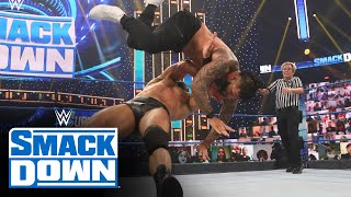 Drew McIntyre vs. Jey Uso - Unsanctioned Match: SmackDown, Nov. 13, 2020