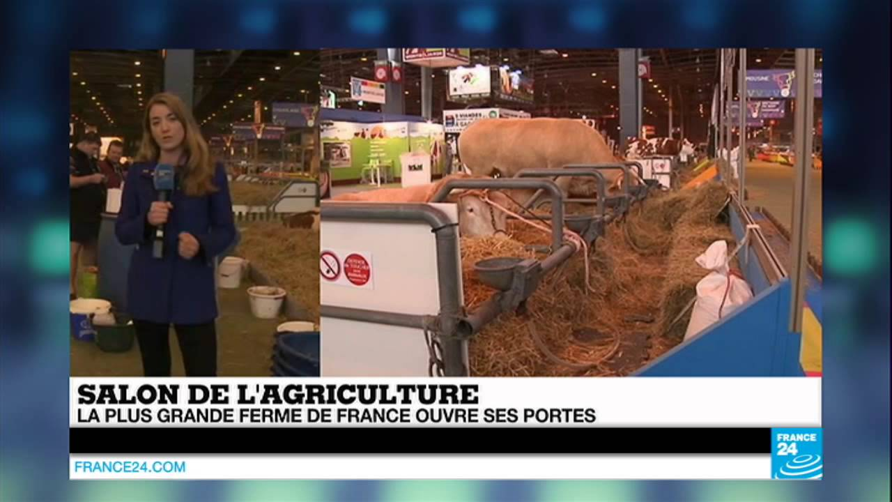 Salon de l 39 agriculture la plus grande ferme de france for Porte ouverte patrouille de france salon