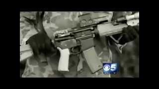 Arizona State Militia Patrols the Desert: KPHO Report