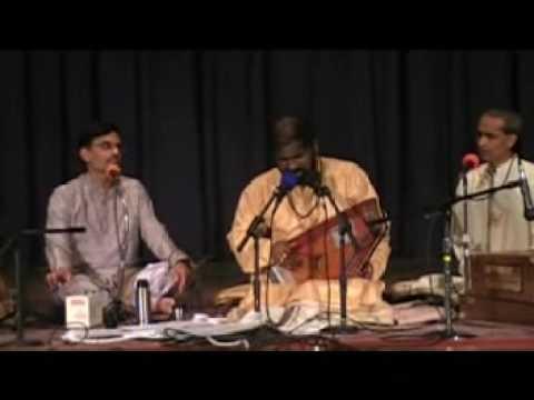 Rag Jog(Hanuman Lala)Pandit Rameshnarayan Live At Delware Temple Philadelphia