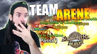 🔴TEAM ARENE ACCESSIBLE - No 300 SPD, Summoners war FR
